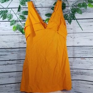 NWOT Zara sleeveless vneck dress sz Medium